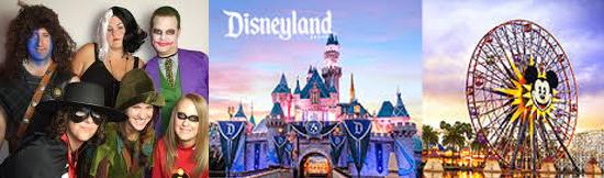 15 coisas estranhas proibidas na Disneylândia - Visitantes fantasiados
