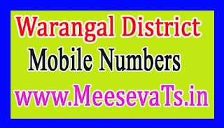 Maddur Mandal MPTC Mobile Numbers List Warangal District in Telangana State