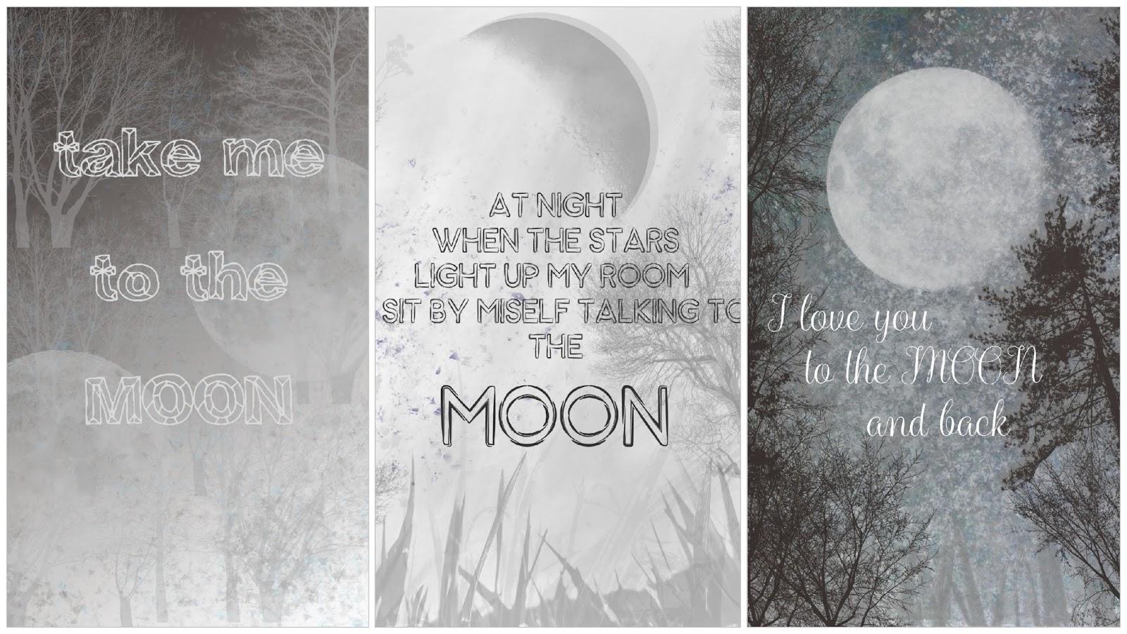 Jesteś jak księżyc... + GRAFIKI do pobrania