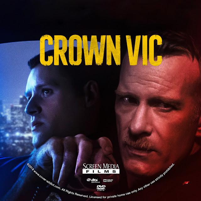 Crown Vic DVD Label