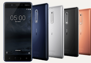 NOKIA Launch the 3GB Veriant of NOKIA 5, Full Specification of NOKIA-5(2&3GB), With Price. Raj Tech Info - Your Mobile Help.