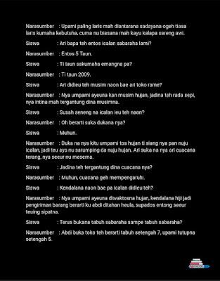 Contoh Laporan Wawancara Bahasa Sunda Ilmusosial Id
