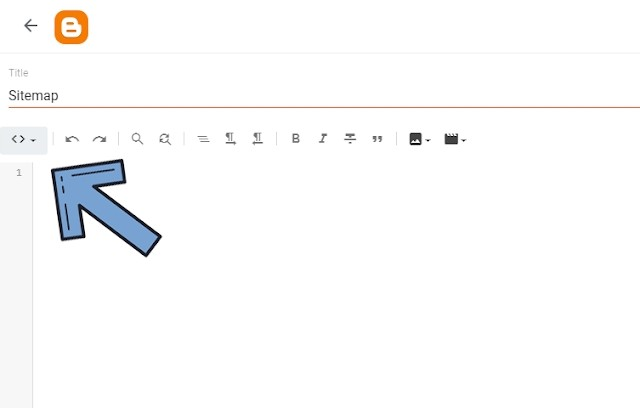 How to Add Sitemap Widget on Blogger