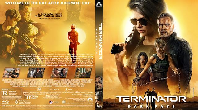 Terminator Dark Fate 11mm Bluray Cover