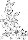 Flower design images drawing/simple flower design's to draw/flower design drawing easy