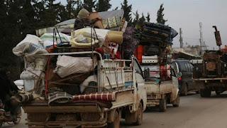 الأمم المتحدة: تشريد 30 ألف مدني شمال غربي سوريا خلال أسبوع