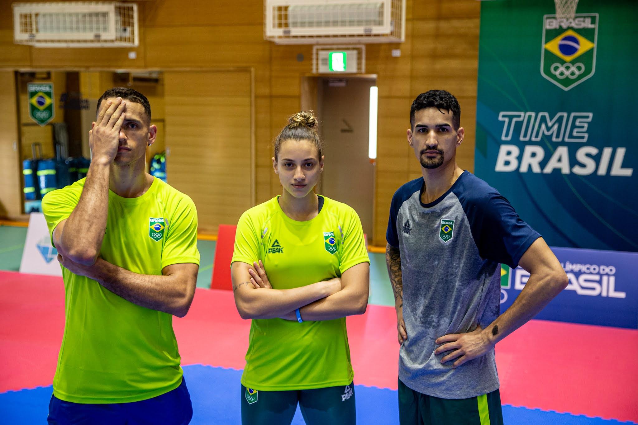 Brasileiros do taekwondo na Olimpíada