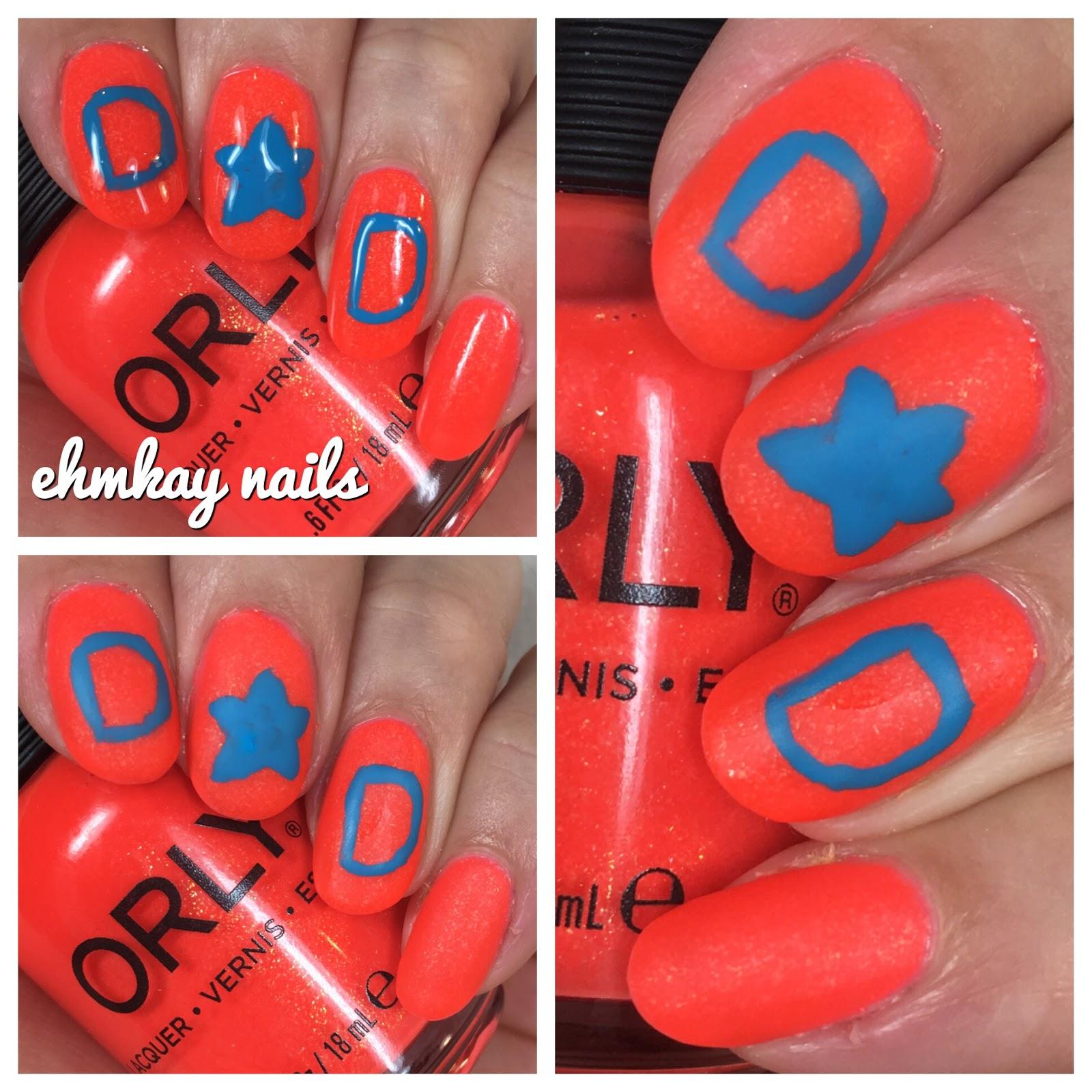 ehmkay nails: Father\'s Day Nail Art