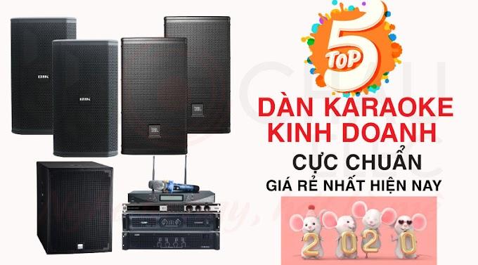 Top 5 dàn karaoke kinh doanh hay và có lãi nhất