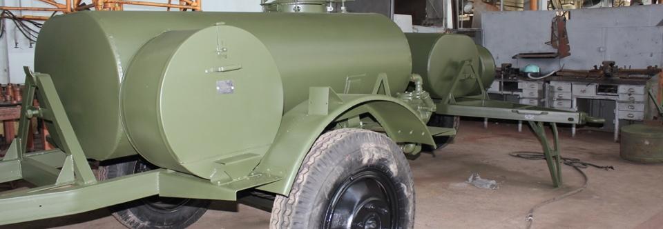 Нацгвардія придбала 5 причепів-цистерн для води