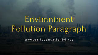 Short Paragraph on Envimninent Pollution | EEB
