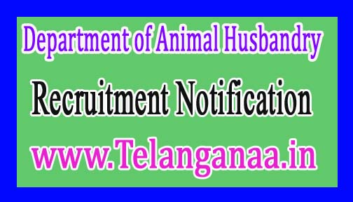 Department of Animal HusbandryGovernment of Uttarakhand Recruitment Notification 2017