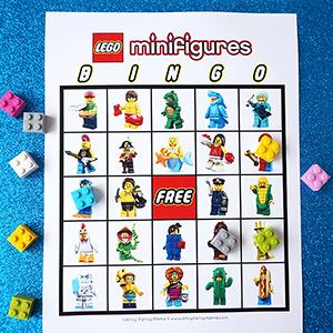 LEGO Minifigure Bingo