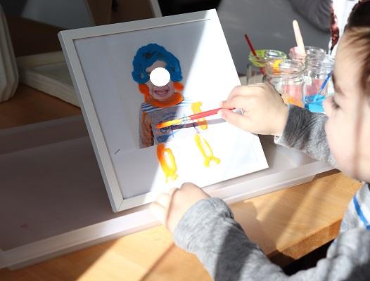 recette peinture pour vitres pour enfant