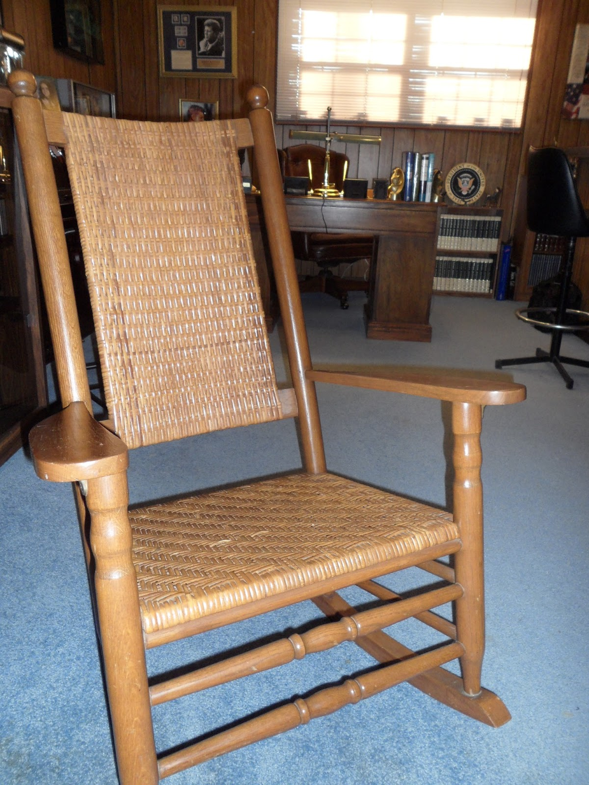 Kennedy Rocking Chair Table And 2 Chairs Cheap Jfk 43 50 4350 Brings Rocker Home