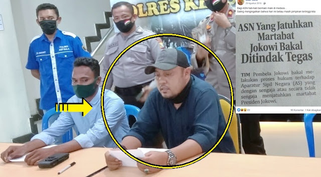 Ternyata Ini Akun Facebook Ismail Ahmad Pengunggah Humor Gus Dur, Pantas Saja Langsung Diciduk, Doi Kerjanya Disini