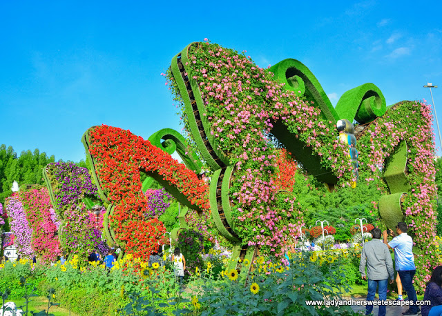 Butterfly Passage in Dubai Miracle Garden