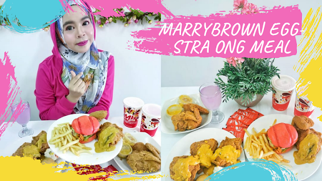 MARRYBROWN EGG-STRA ONG MEAL