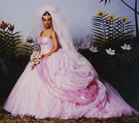 Ella Barrett On Film Fashion Wedding Dress Wednesday Coming To America 1988