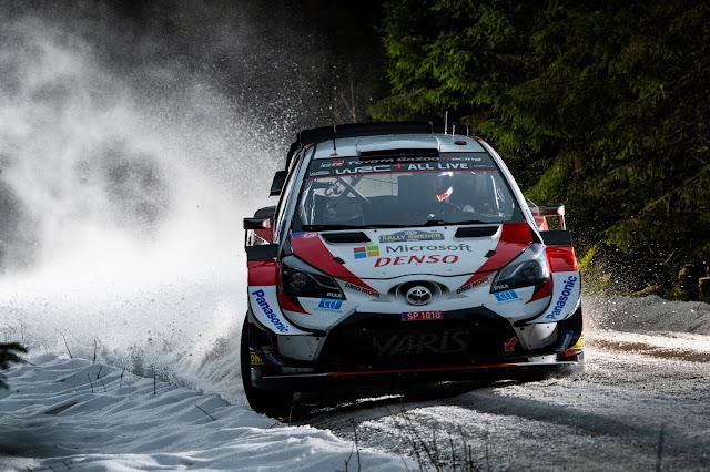 Elfyn Evans on Rally Sweden