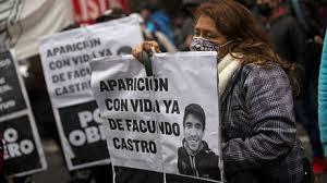 Conmovedor el consuelo de la Madre de Facundo, joven Argentino desaparecido