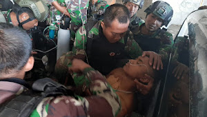 Dua Prajurit TNI Gugur, Satu Di Tembak  KKB Saat Usai Ibadah