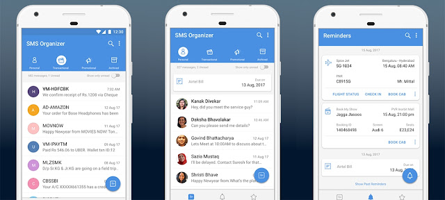 Microsoft SMS Organizer an Android App