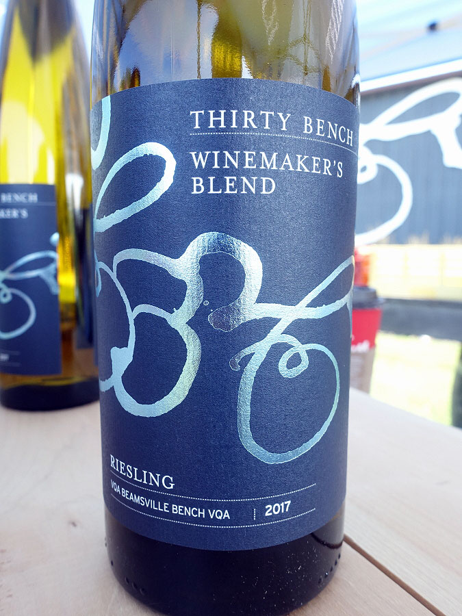 Thirty Bench Winemaker's Blend Riesling 2017 (90 pts)