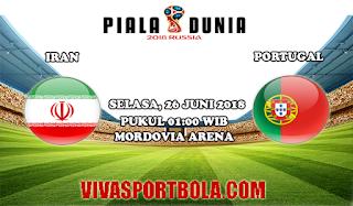 Prediksi Bola Iran vs Portugal 26 Juni 2018