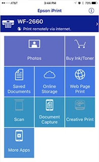Epson iPrint App For Print documents and photos wirelessly from your Smartphone