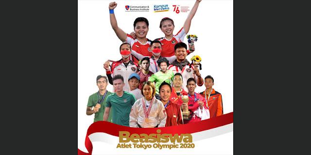 Atlet Indonesia yang Bertanding di Olimpiade Tokyo Dapat Beasiswa dari LSPR