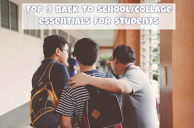 Top 9 back to school/college essentials every student needs!