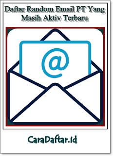 Daftar Random Email Loker Terbaru 2019 - BCC Lengkap
