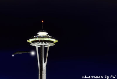 UFO Flies by Seattle's Space Needle