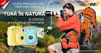 Castiga 2 aparate foto FujiFilm Instax Mini