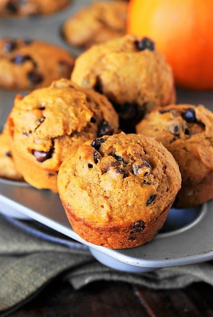 Chocolate Chip Pumpkin Muffins {a.k.a. 'Puffins'} Image