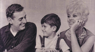 Dario Fo with Franca Rame and their son Jacopo