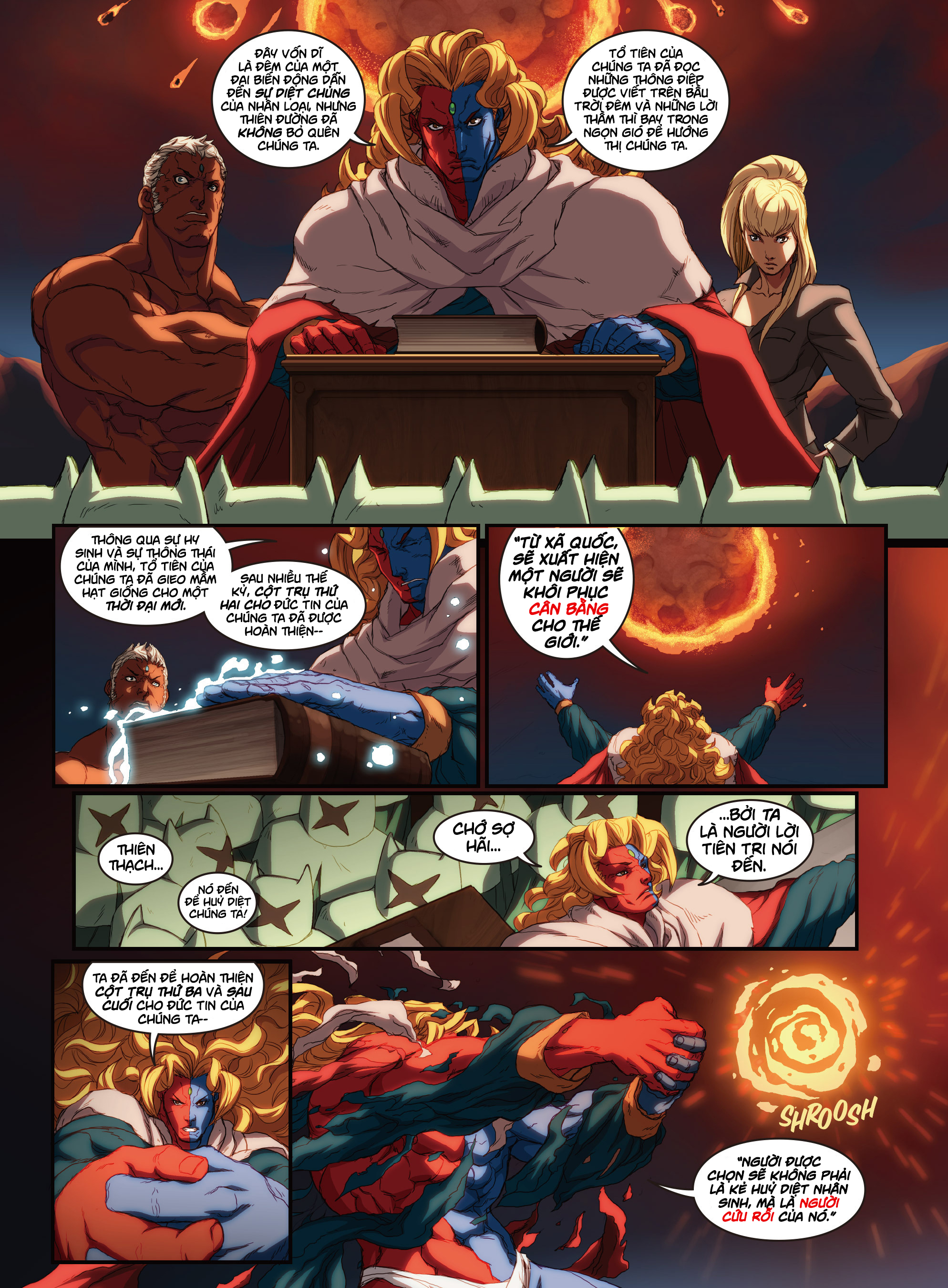 Street Fighter Unlimited Chap 2.1 - Next Chap 3