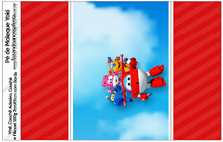Super Wings: Etiquetas para Candy Bar para Imprimir Gratis.