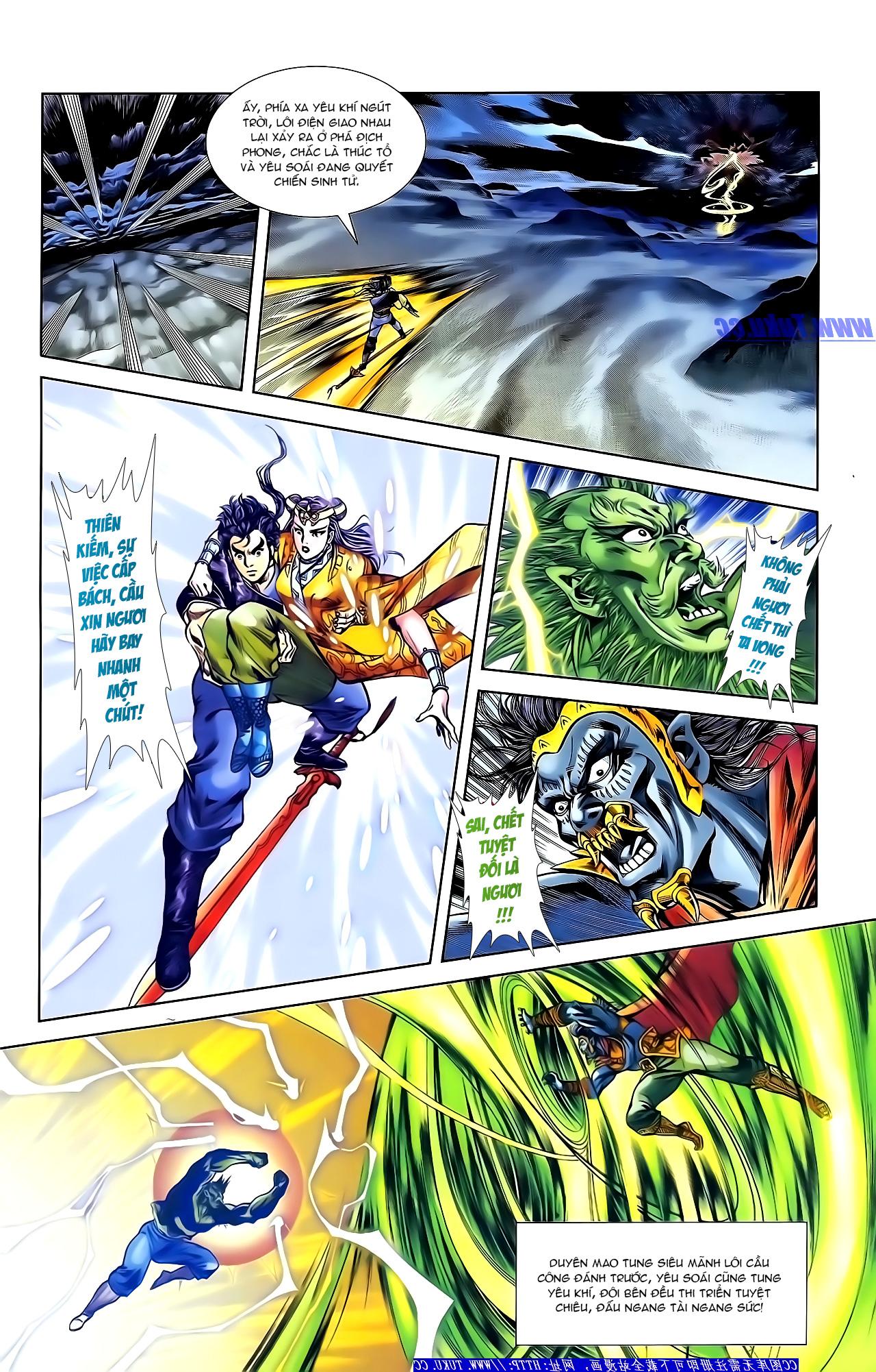 Cơ Phát Khai Chu Bản chapter 155 trang 24