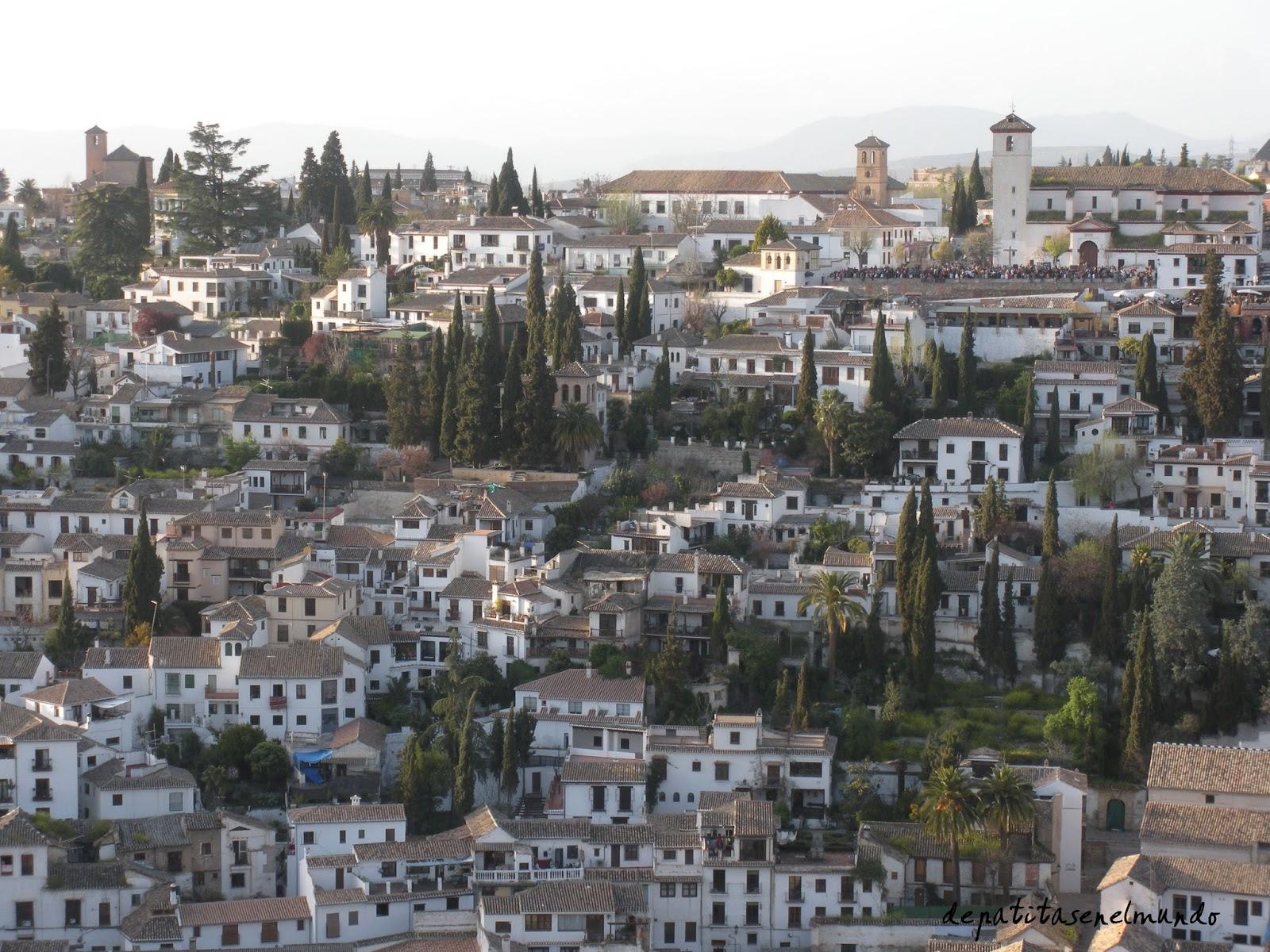 Vistas del Albaycin
