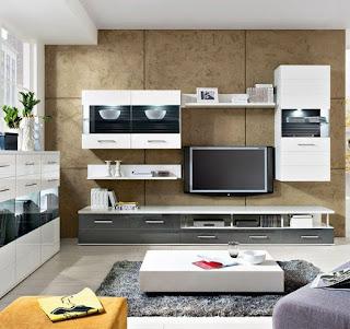 sala moderna mueble tv