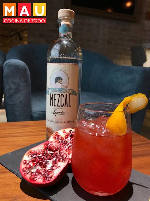 mezcalita mezcal granada naranja mau cocina de todo receta bebida drink