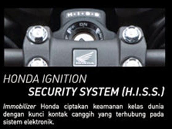 Kunci kontak model immobilizer sistem elektronik