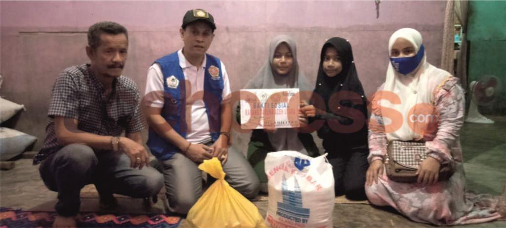 Karang Taruna Aceh Utara Bantu Penyandang Disabilitas Dan Lansia