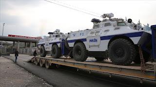 إرسال تعزيزات عسكرية تركية إلى الحدود السورية
