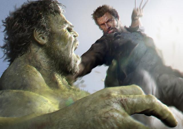 """Wolverine vs Hulk"""