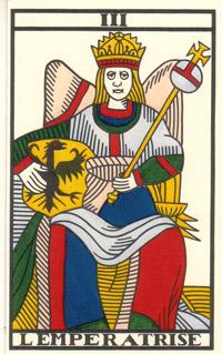 tarot imperatrice et pendu