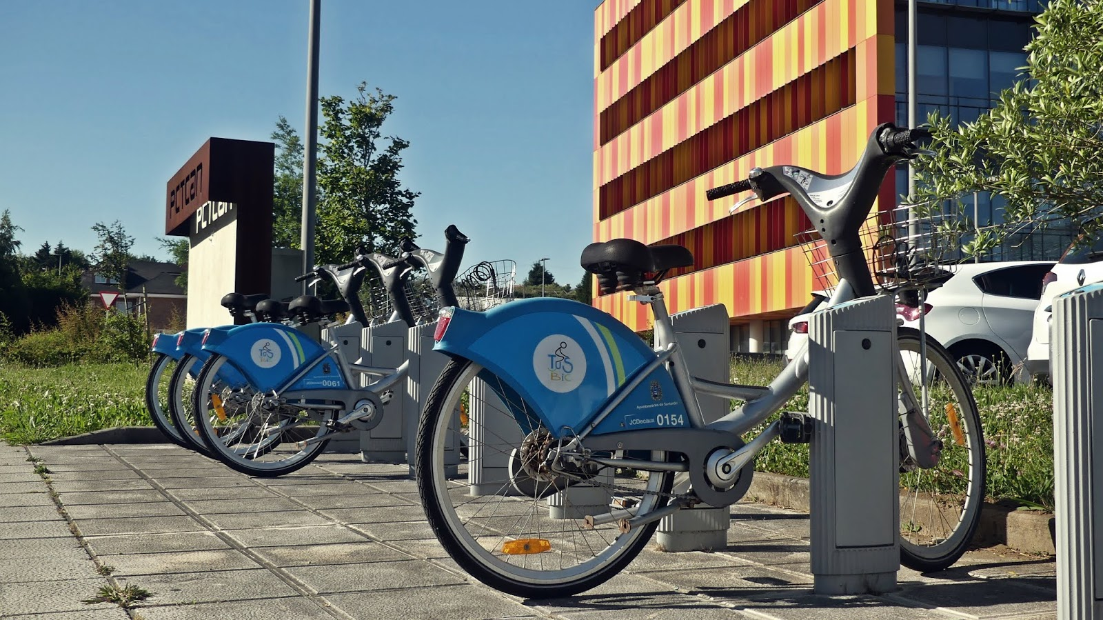 rowery Tus Bic w Santander Hiszpania