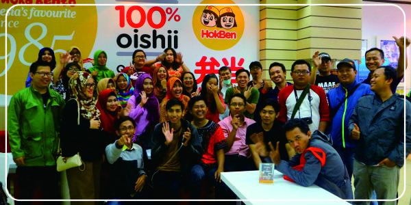 Foto Bareng KBJ dan HokBen | adipraa.com